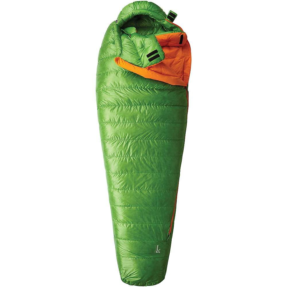 マウンテンハードウェア メンズ ハイキング・登山【Mountain Hardwear Phantom Flame Sleeping Bag】Cyber Green