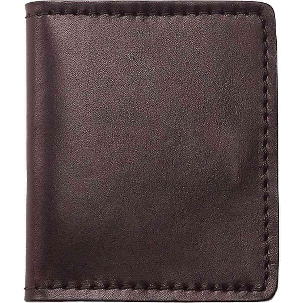 フィルソン ユニセックス カードケース・名刺入れ【Filson Cash and Card Case】Brown