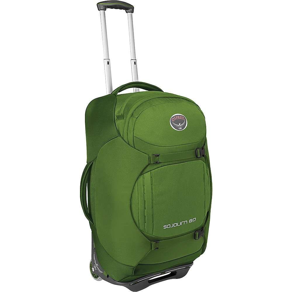 オスプレー ユニセックス バッグ スーツケース・キャリーバッグ【Osprey Sojourn 60L/25IN Wheeled Pack】Nitro Green