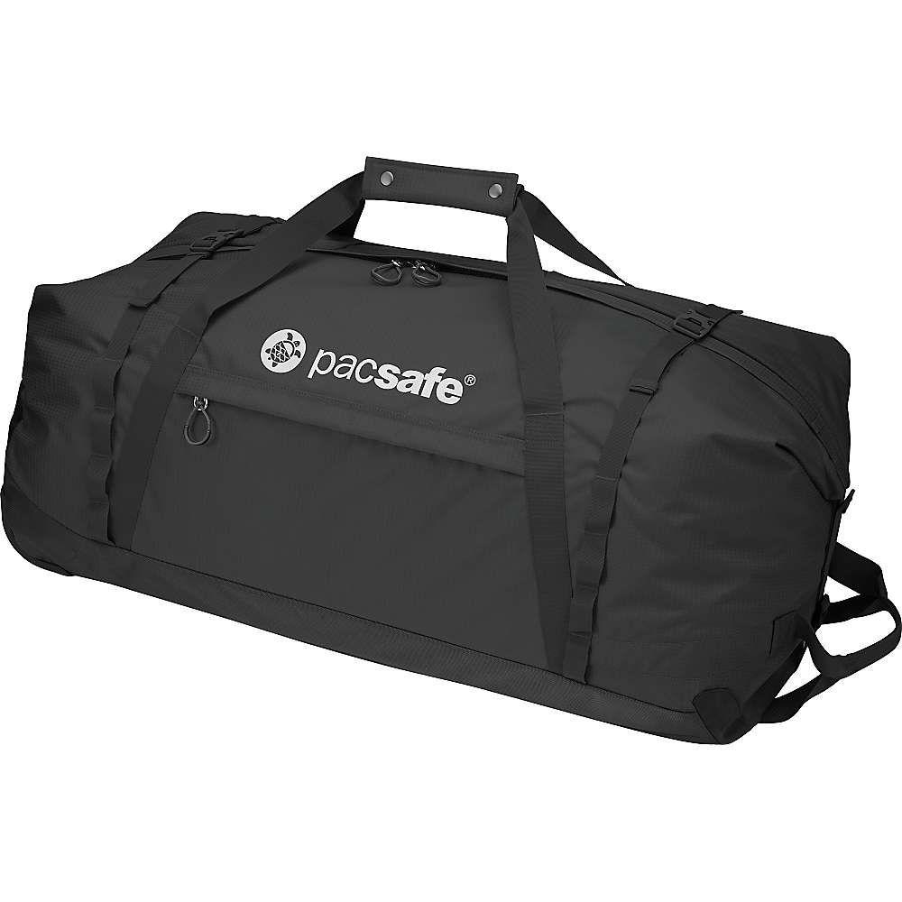 パックセイフ ユニセックス バッグ スーツケース・キャリーバッグ【Pacsafe Duffelsafe AT120 Wheeled Adcenture Duffel Bag】Black