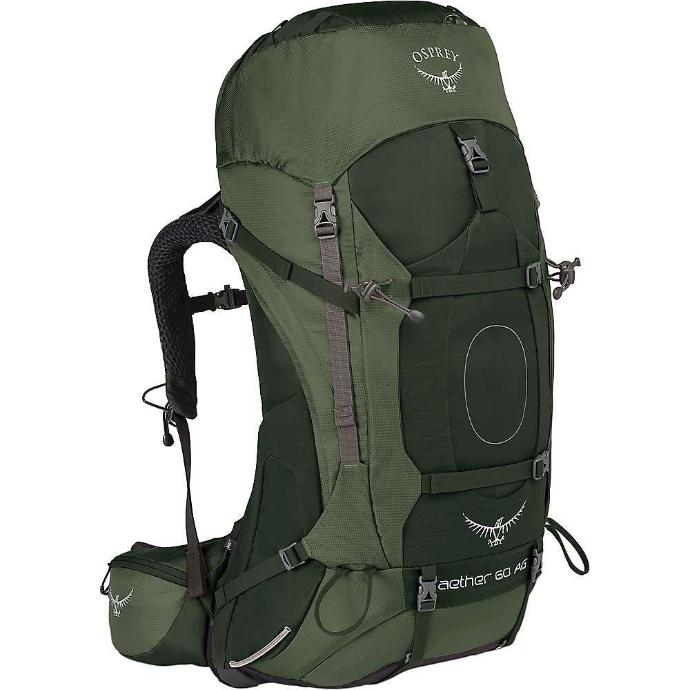 オスプレー メンズ ハイキング・登山【Osprey Aether AG 60 Pack】Adirondack Green