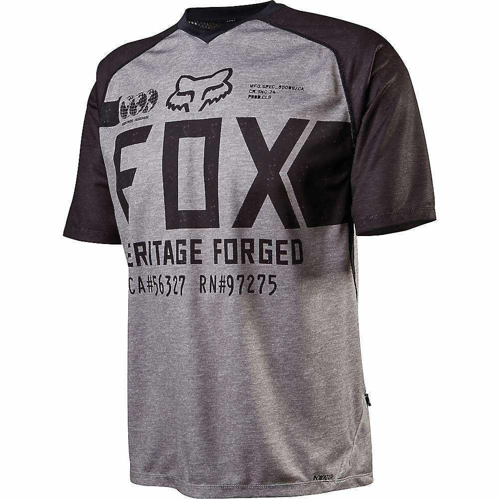 フォックス メンズ 自転車 トップス【Fox Indicator SS Jersey】Heather Grey