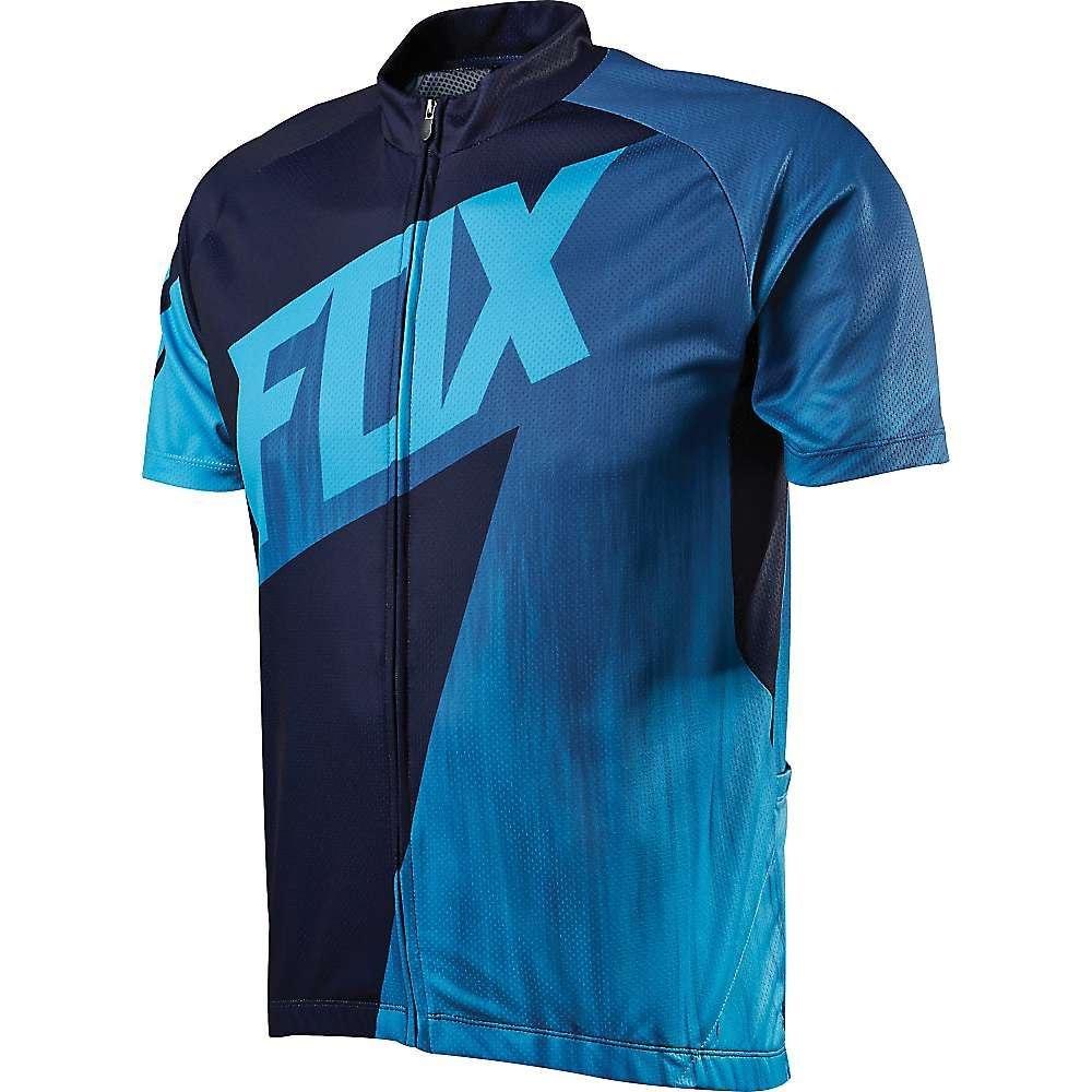 フォックス メンズ 自転車 トップス【Fox Livewire Race Jersey】Blue