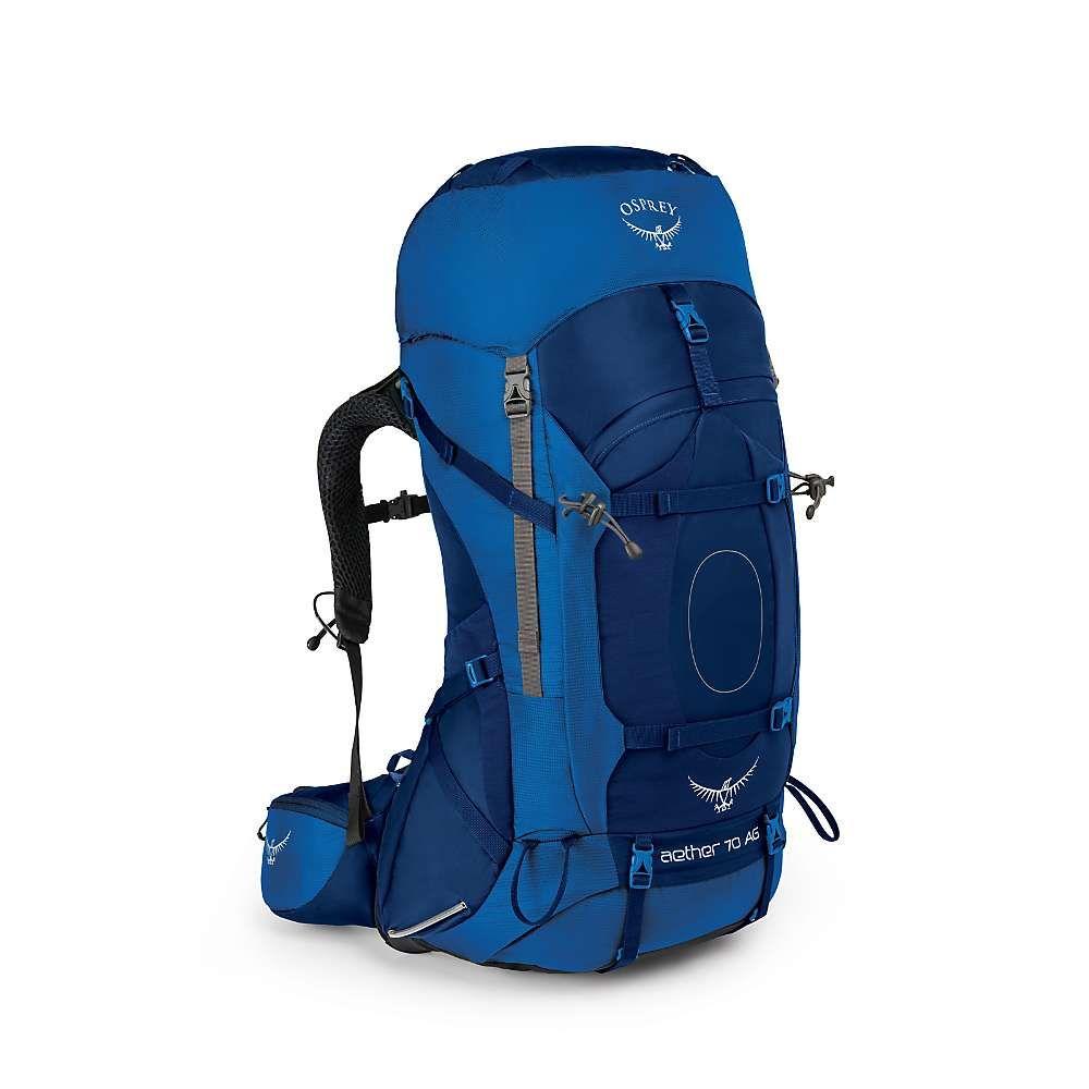 オスプレー メンズ ハイキング・登山【Osprey Aether AG 70 Pack】Neptune Blue