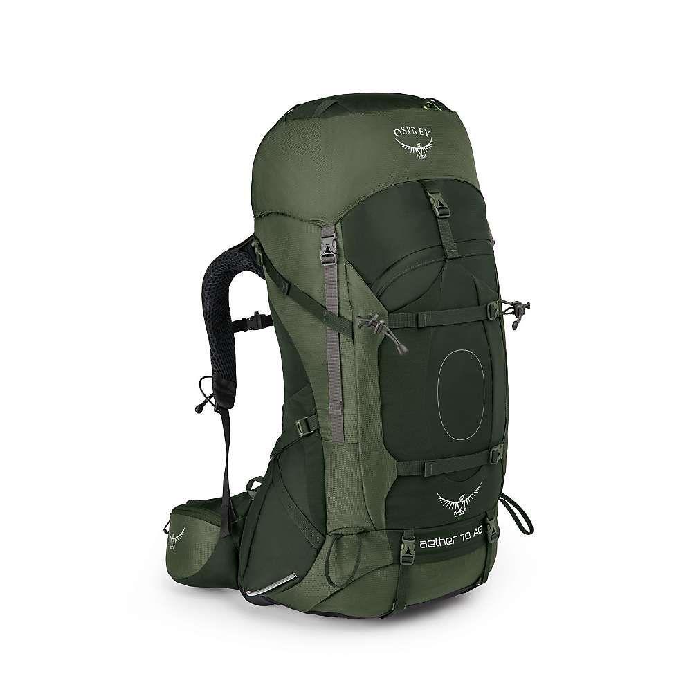 オスプレー メンズ ハイキング・登山【Osprey Aether AG 70 Pack】Adirondack Green