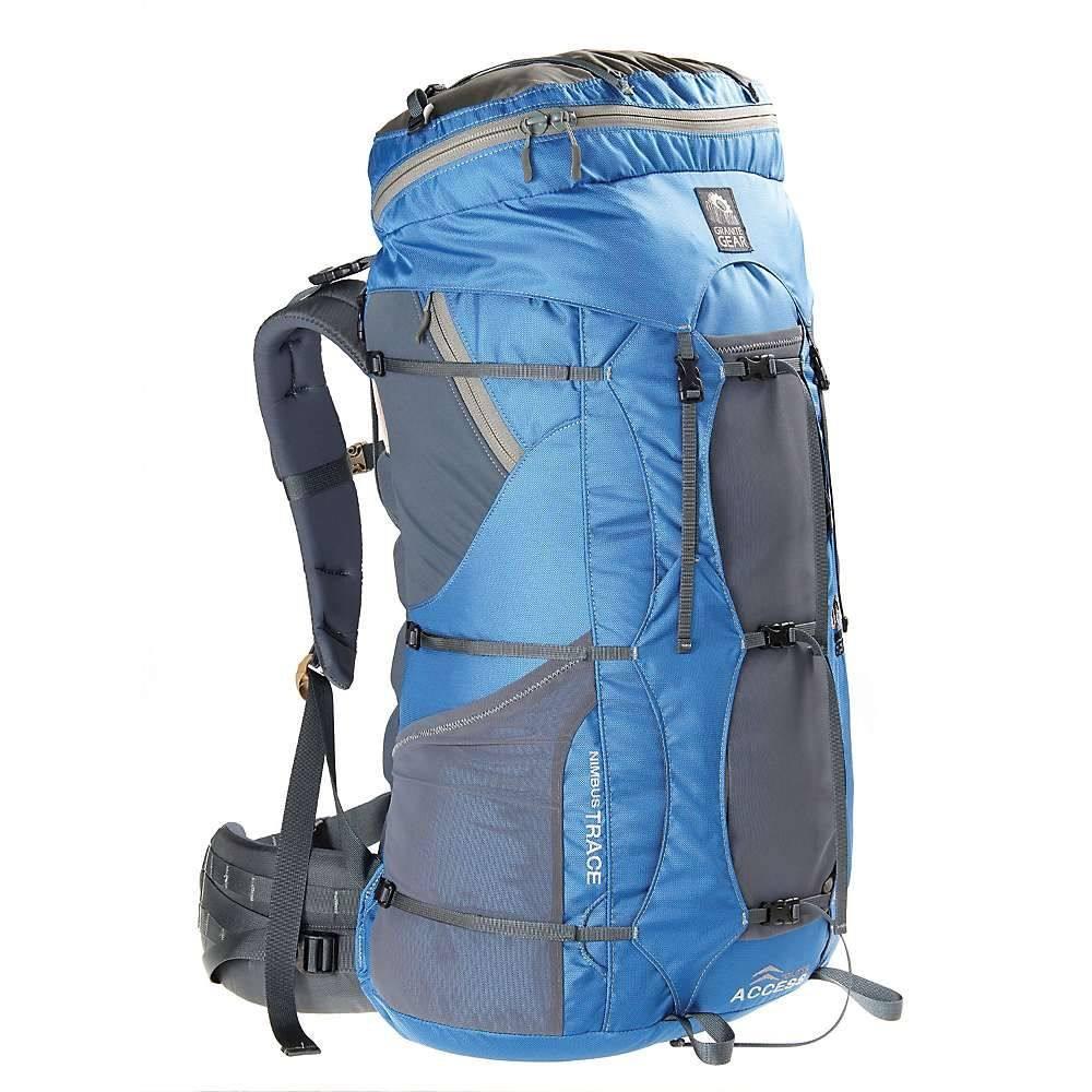 グラナイトギア レディース ハイキング・登山【Granite Gear Nimbus Trace Access 70 Ki Pack】Blue / Moonmist