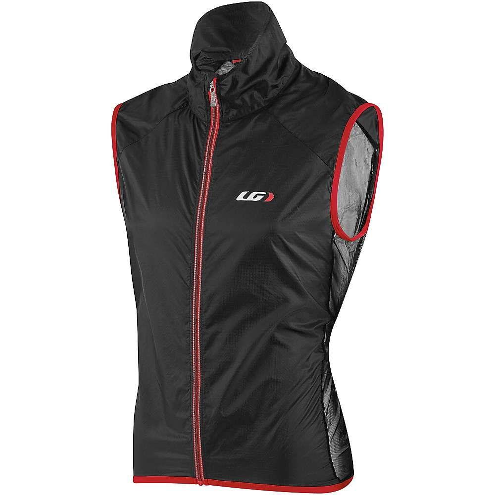 ルイスガーナー メンズ 自転車 トップス【Louis Garneau Speedzone X-Lite Vest】Black / Red