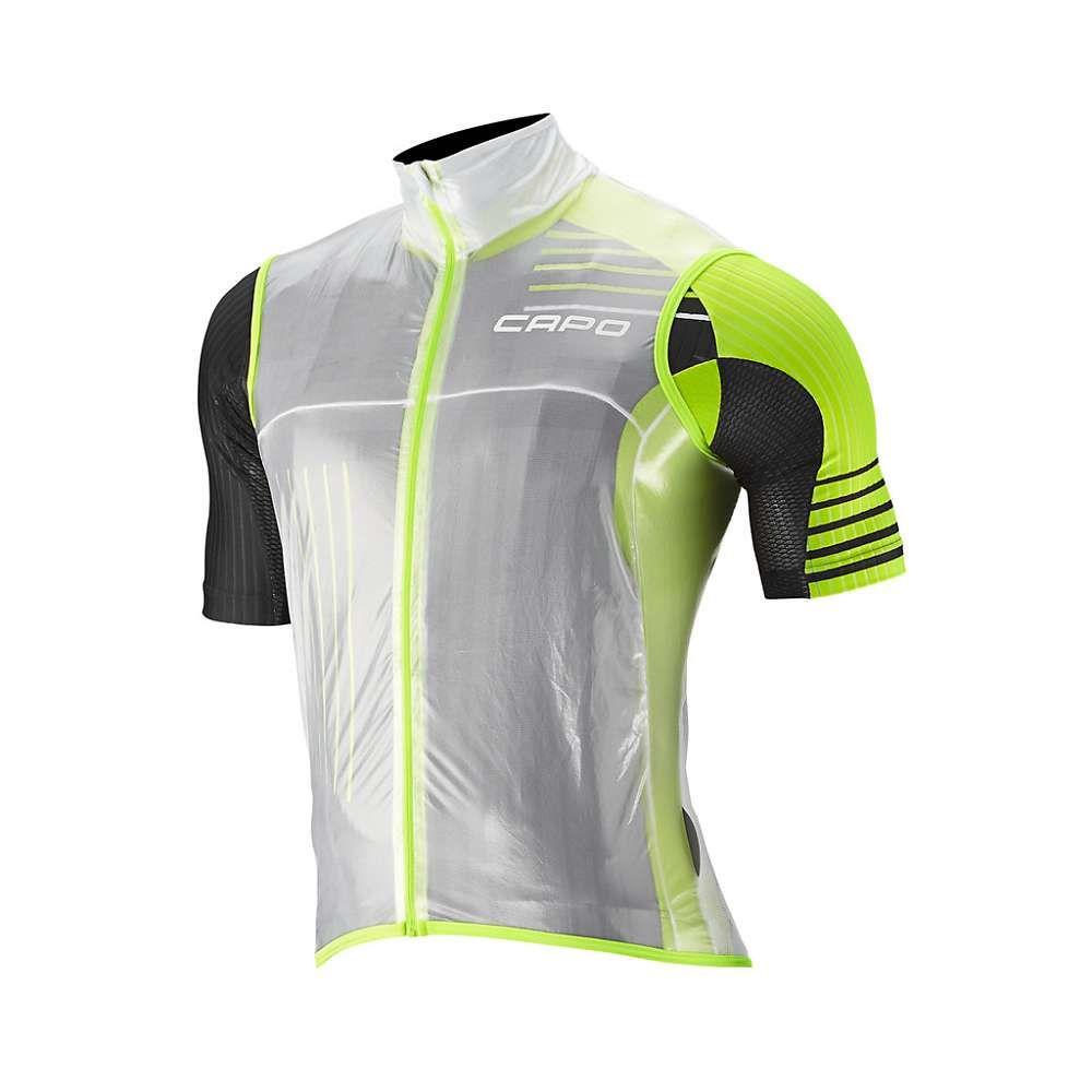 カポ メンズ 自転車 トップス【Capo Pursuit Compatto Wind Vest】Clear