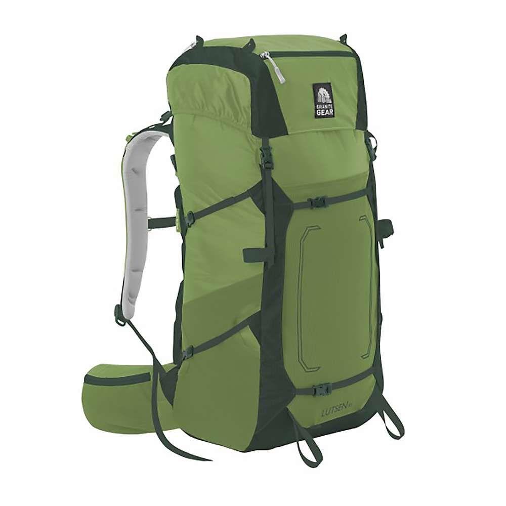 グラナイトギア ユニセックス ハイキング・登山【Granite Gear Lutsen 55 Pack】Moss / Boreal / Chromimum