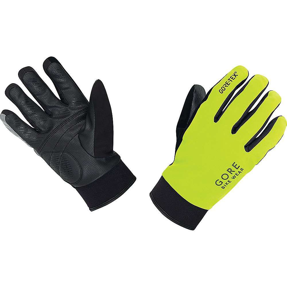ゴア メンズ 自転車 グローブ【Gore Bike Wear Universal Gore-Tex Thermo Glove】Neon Yellow / Black