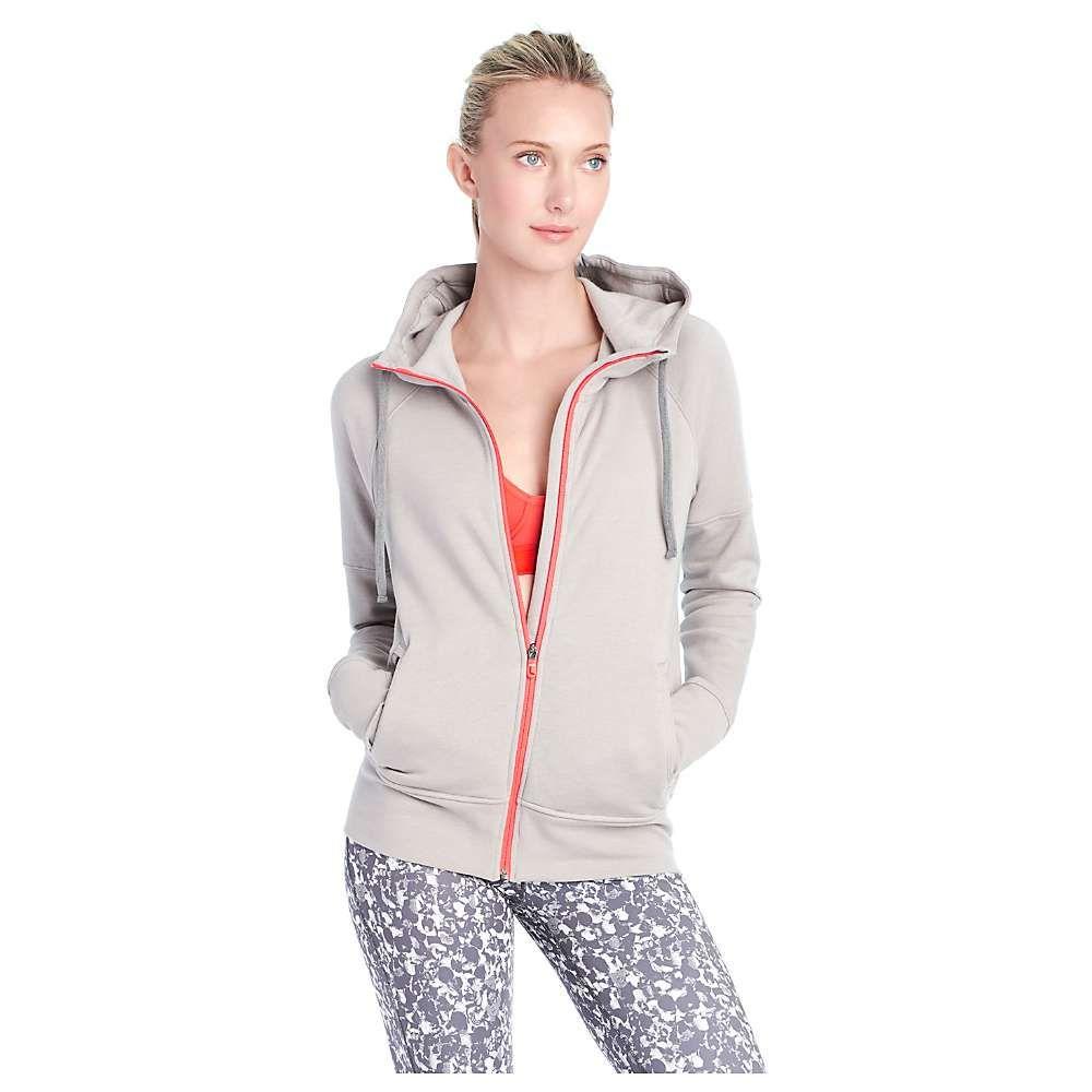 ロール レディース トップス カーディガン【Lole Unite Hooded Cardigan】Warm Grey Heather