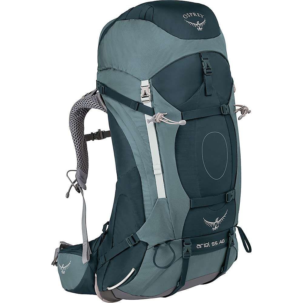 オスプレー レディース ハイキング・登山【Osprey Ariel AG 55 Pack】Boothbay Grey