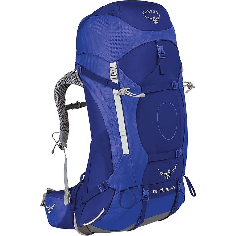 オスプレー レディース ハイキング・登山【Osprey Ariel AG 55 Pack】Tidal Blue