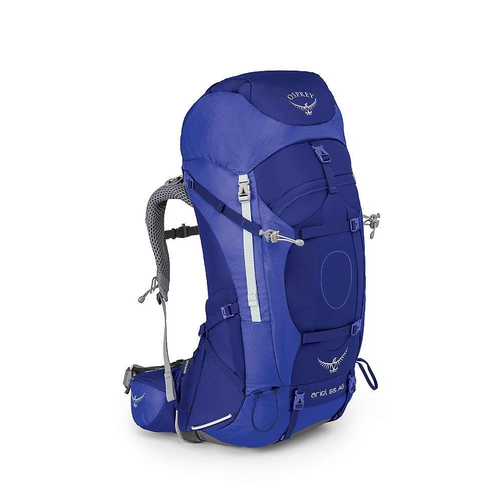 オスプレー レディース ハイキング・登山【Osprey Ariel AG 65 Pack】Tidal Blue