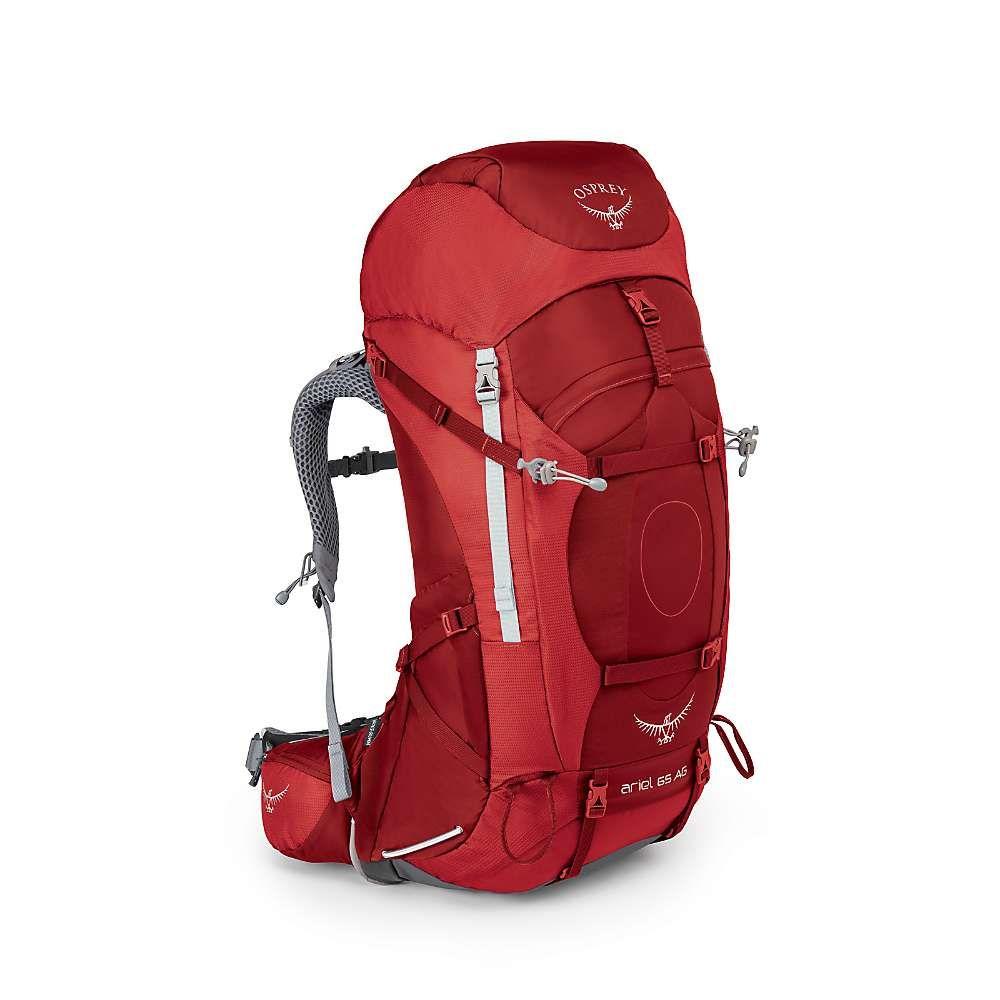 オスプレー レディース ハイキング・登山【Osprey Ariel AG 65 Pack】Picante Red