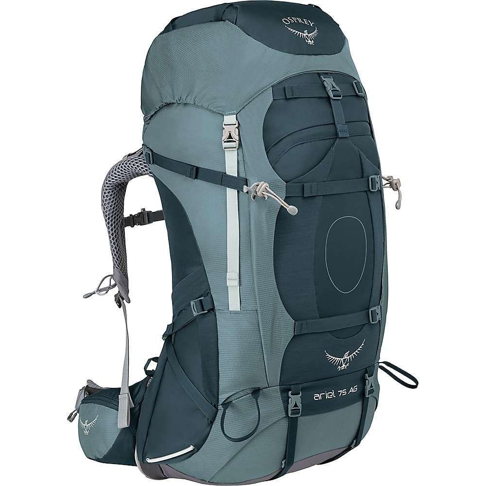 オスプレー レディース ハイキング・登山【Osprey Ariel AG 75 Pack】Boothbay Grey