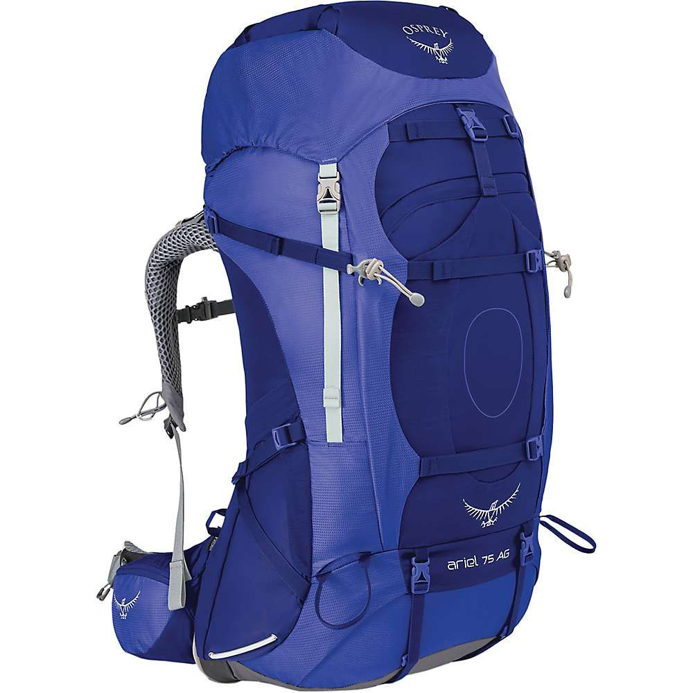 オスプレー レディース ハイキング・登山【Osprey Ariel AG 75 Pack】Tidal Blue