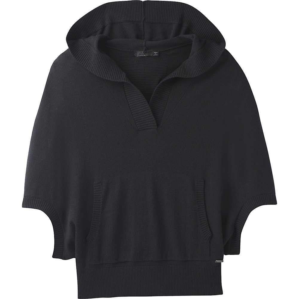 プラーナ レディース トップス ニット・セーター【Prana Daria Sweater Hoodie】Black
