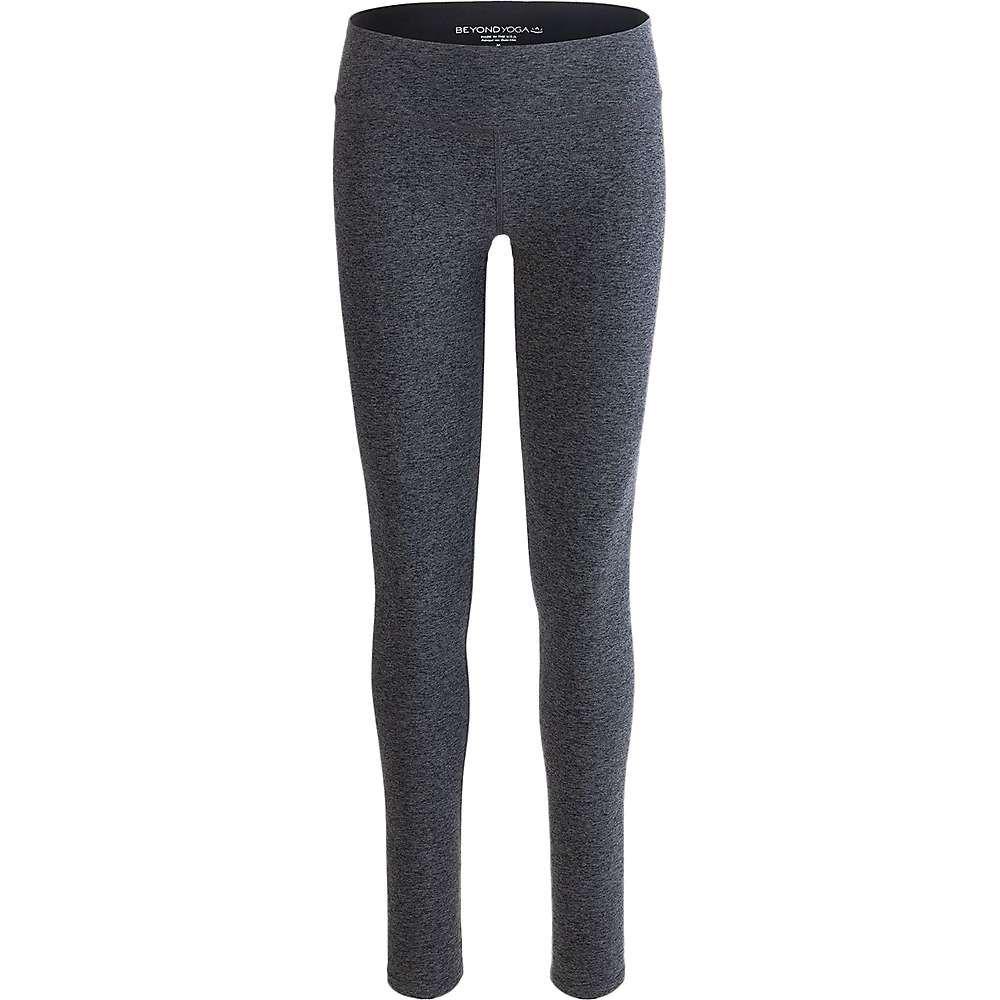 ビヨンドヨガ レディース ヨガ・ピラティス ボトムス・パンツ【Beyond Yoga Spacedye Essential Long Legging】Black / Charcoal