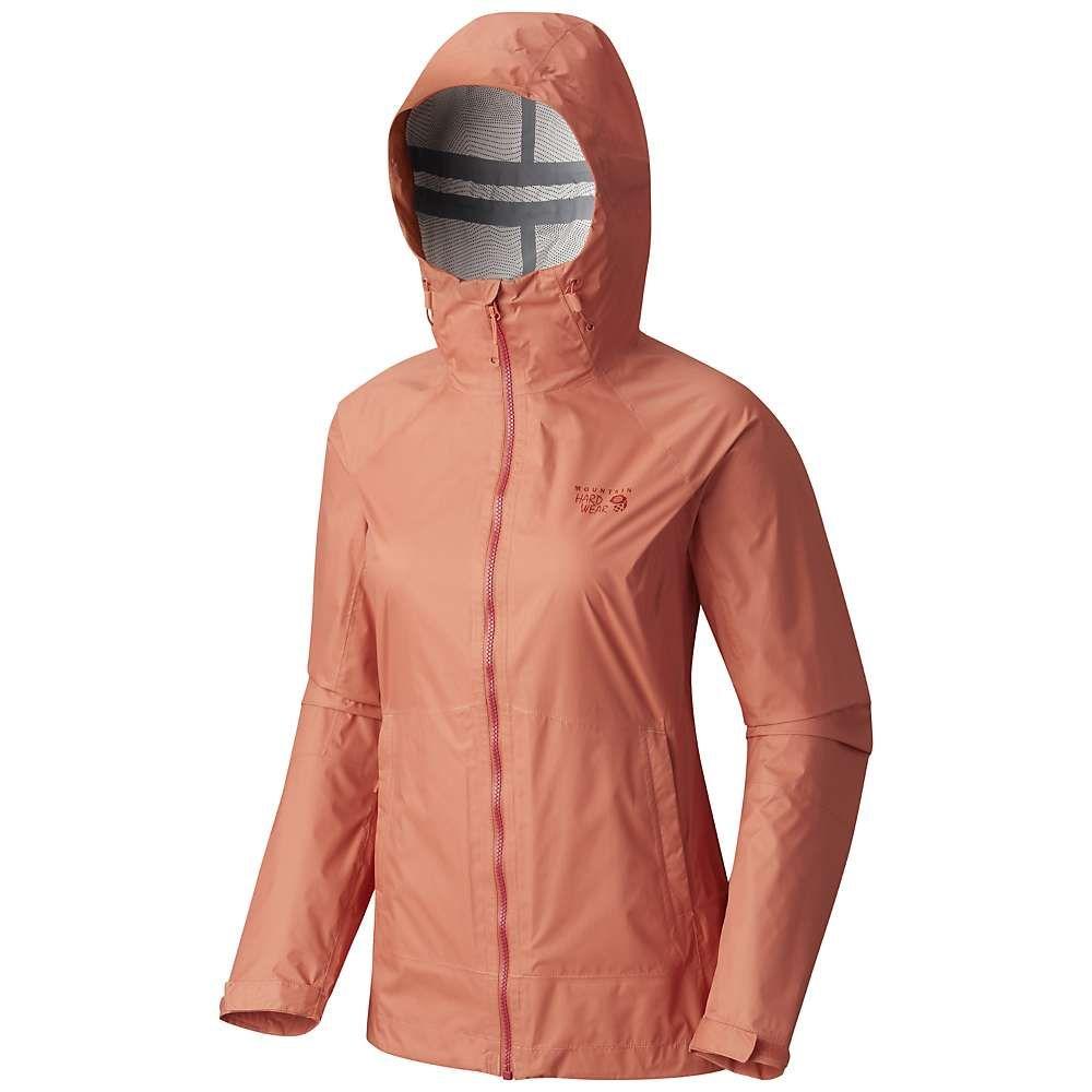 マウンテンハードウェア レディース アウター レインコート【Mountain Hardwear Exponent Jacket】Caliente