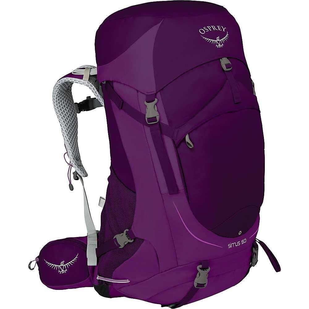 オスプレー レディース ハイキング・登山【Osprey Sirrus 50 Pack】Ruska Purple