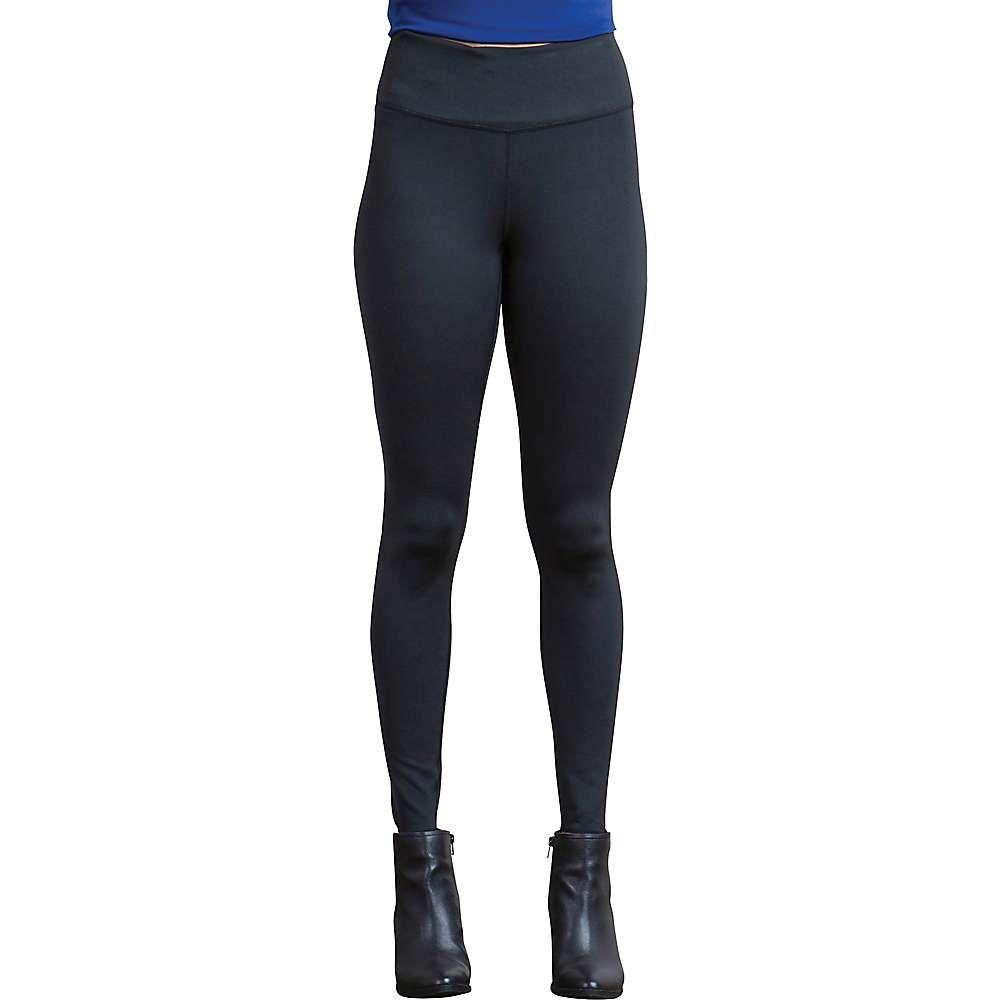 エクスオフィシオ レディース ランニング・ウォーキング ボトムス・パンツ【ExOfficio Zhanna Reversible Legging】Black / Charcoal Heather