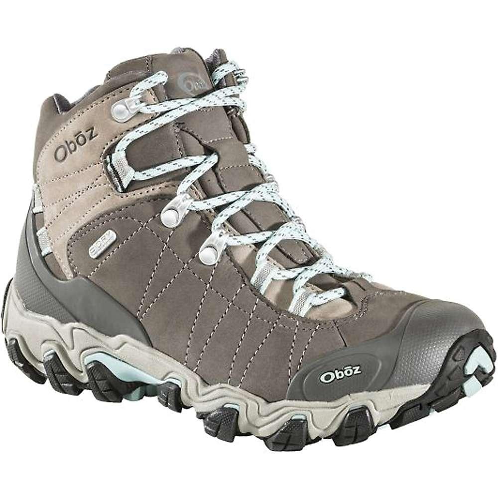 オボズ レディース ハイキング・登山 シューズ・靴【Oboz Bridger Mid BDry Boot】Cool Gray
