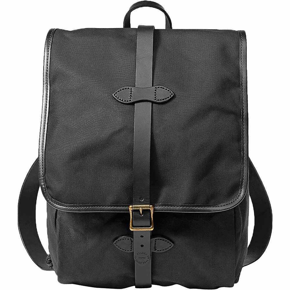 フィルソン メンズ ハイキング・登山【Filson Tin Cloth Backpack】Black