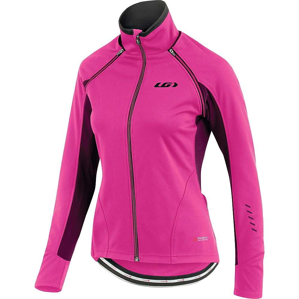ルイスガーナー レディース 自転車 アウター【Louis Garneau Spire Convertible Jacket】Pink Glow
