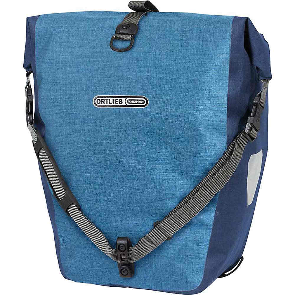 オートリービー ユニセックス 自転車【Ortlieb Back Roller Plus Pannier Pair】Denim / Steel Blue