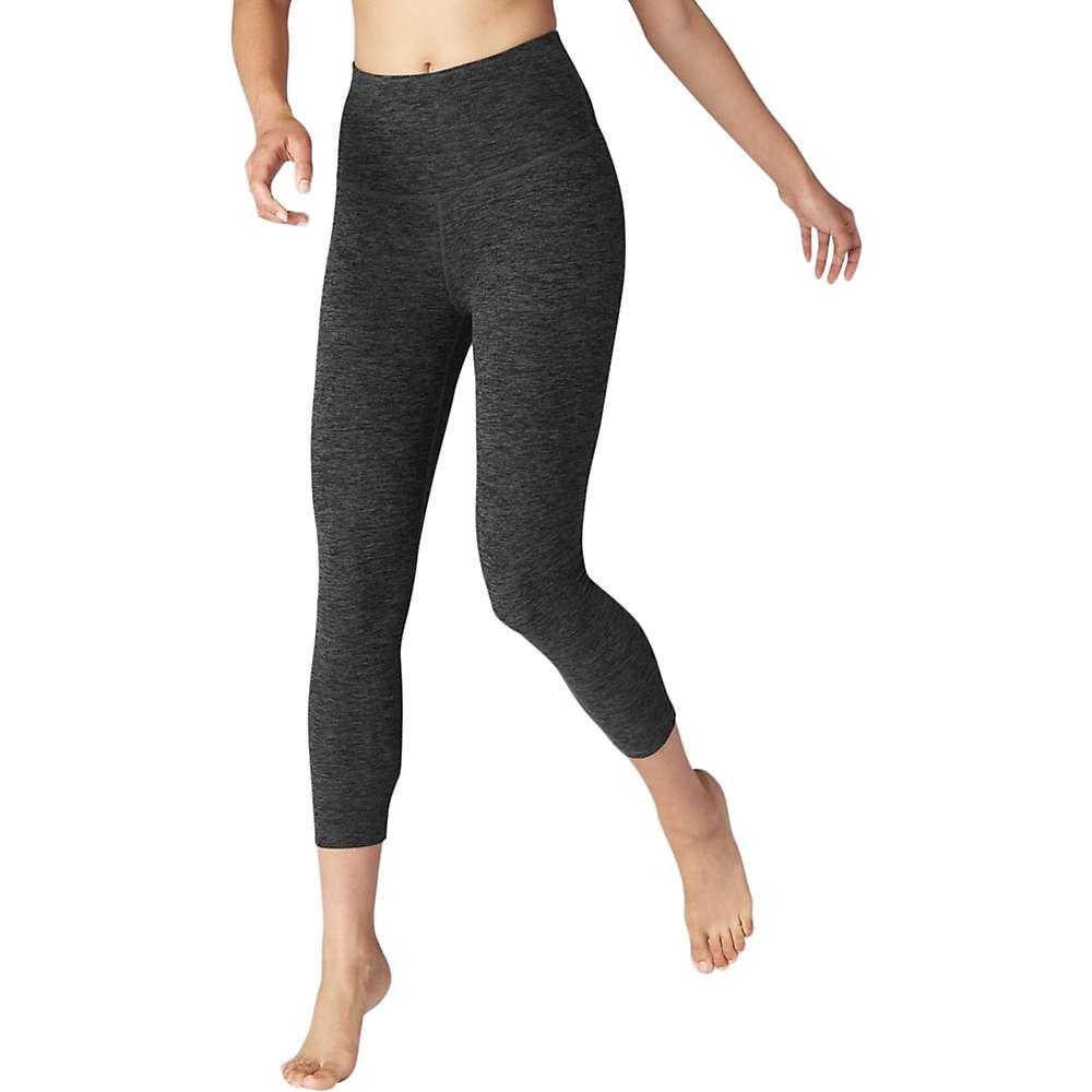 ビヨンドヨガ レディース ヨガ・ピラティス ボトムス・パンツ【Beyond Yoga Spacedye High Waist Capri Legging】Black / Charcoal Space Dye