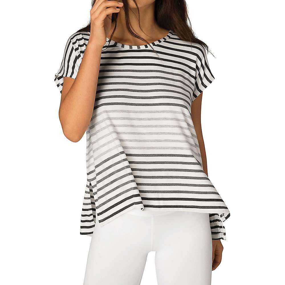 ビヨンドヨガ レディース ヨガ・ピラティス トップス【Beyond Yoga Bring It Ommmbre Striped Top】Grey Ombre Stripe
