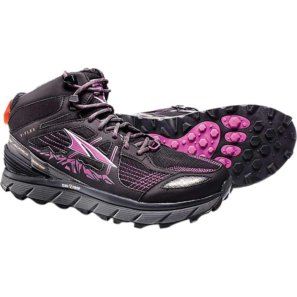 アルトラ レディース ランニング・ウォーキング シューズ・靴【Altra Lone Peak 3.5 Mid Mesh Shoe】Purple / Orange