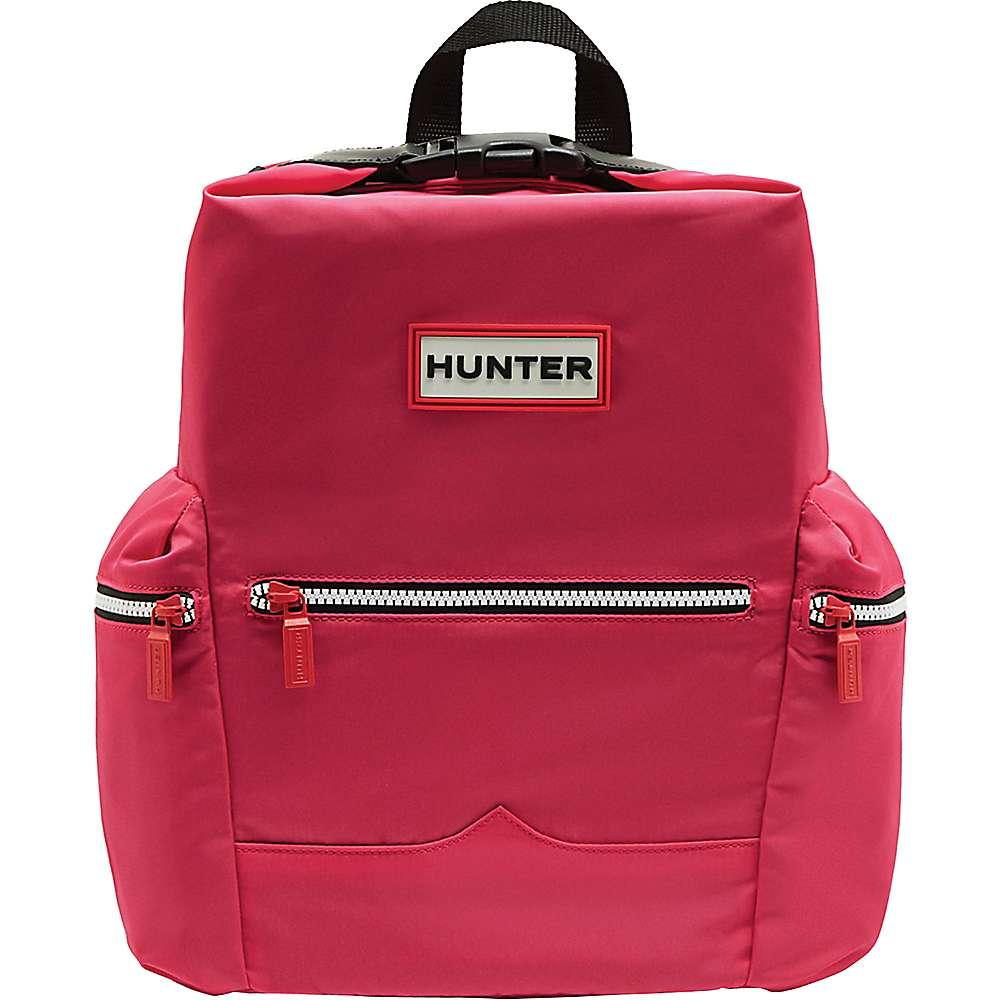 ハンター ユニセックス ハイキング・登山【Hunter Original Nylon Backpack】Bright Pink