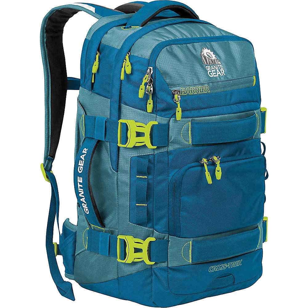 グラナイトギア メンズ ハイキング・登山【Granite Gear Cross-Trek 36 Liter Backpack】Bleumine / Blue Frost / Neolime
