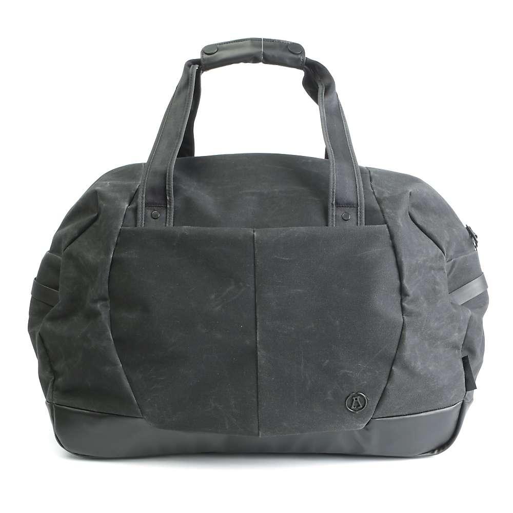アルケミー エキップメント ユニセックス バッグ【Alchemy Equipment Weekender Bag】Black Waxed Kodra