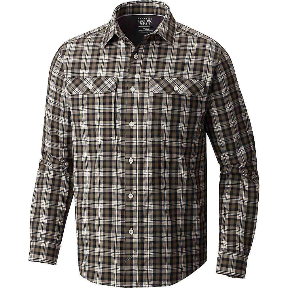 マウンテンハードウェア メンズ ハイキング・登山 トップス【Mountain Hardwear Canyon AC LS Shirt】Darklands