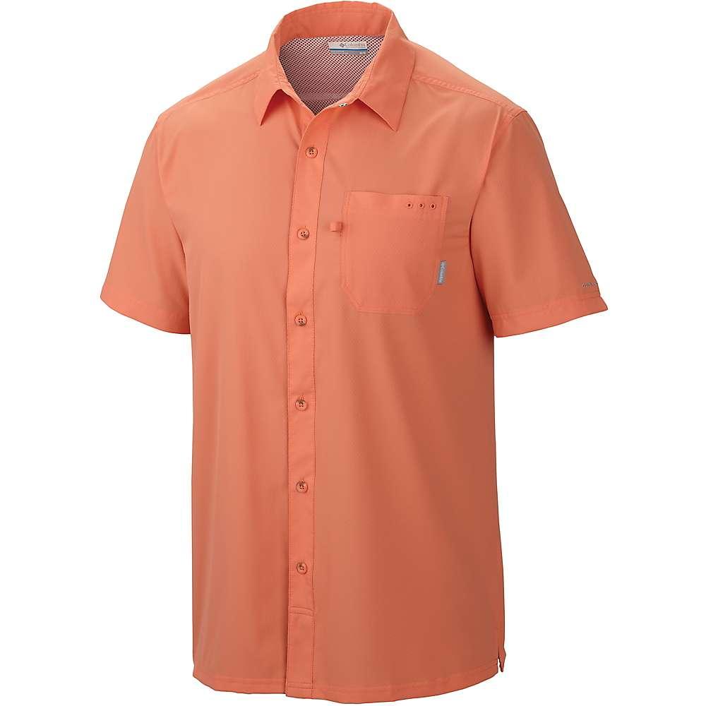 コロンビア メンズ ハイキング・登山 トップス【Columbia Slack Tide Camp Shirt】Bright Peach
