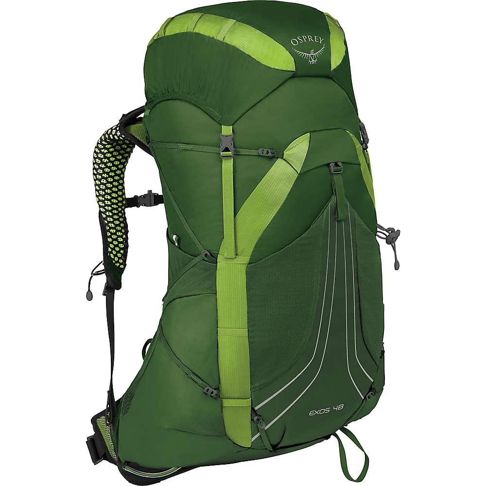 オスプレー メンズ ハイキング・登山【Osprey Exos 48 Pack】Tunnel Green