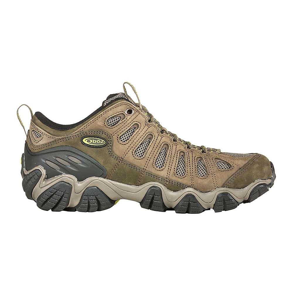 オボズ メンズ ハイキング・登山 シューズ・靴【Oboz Wide Sawtooth Low Shoe】Umber