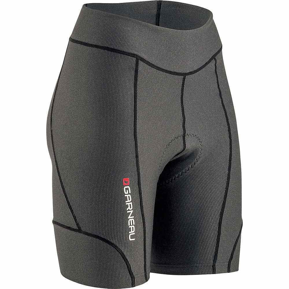 ルイスガーナー レディース 自転車 ボトムス・パンツ【Louis Garneau Fit Sensor 7.5 Short】Black / Grey
