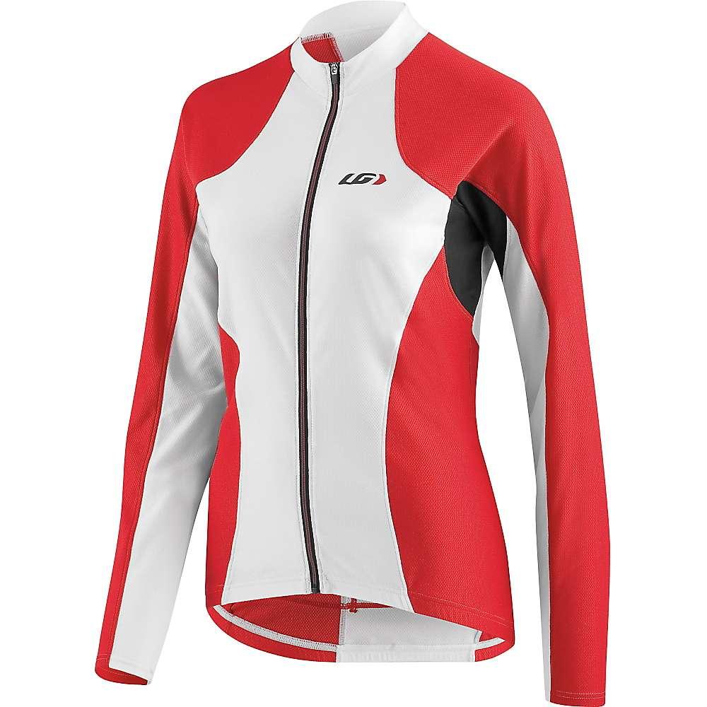 ルイスガーナー レディース 自転車 トップス【Louis Garneau Ventila SL Jersey】White / Red / Black
