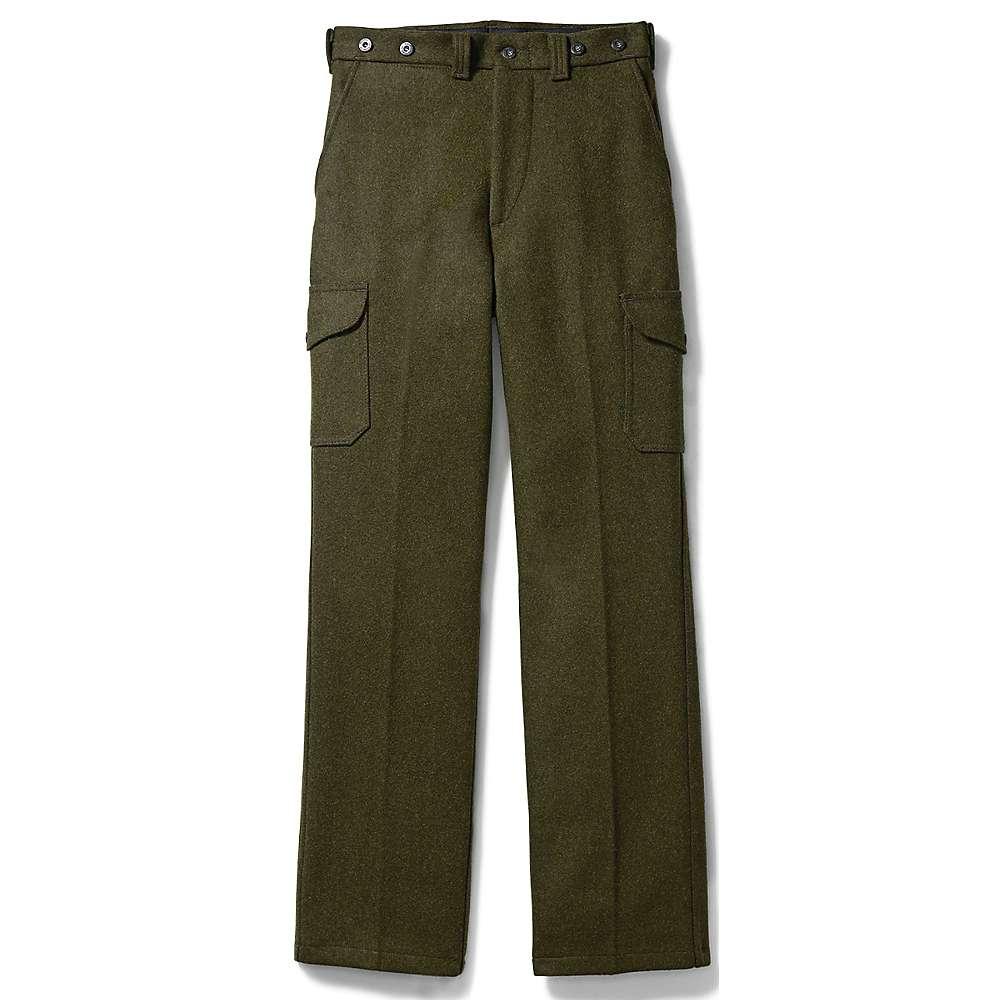 フィルソン メンズ ハイキング・登山 ボトムス・パンツ【Filson Mackinaw Field Pant】Forest Green