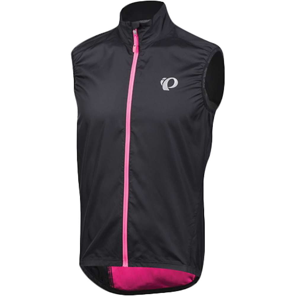 パールイズミ メンズ 自転車 トップス【Pearl Izumi ELITE Barrier Vest】Black / Screaming Pink