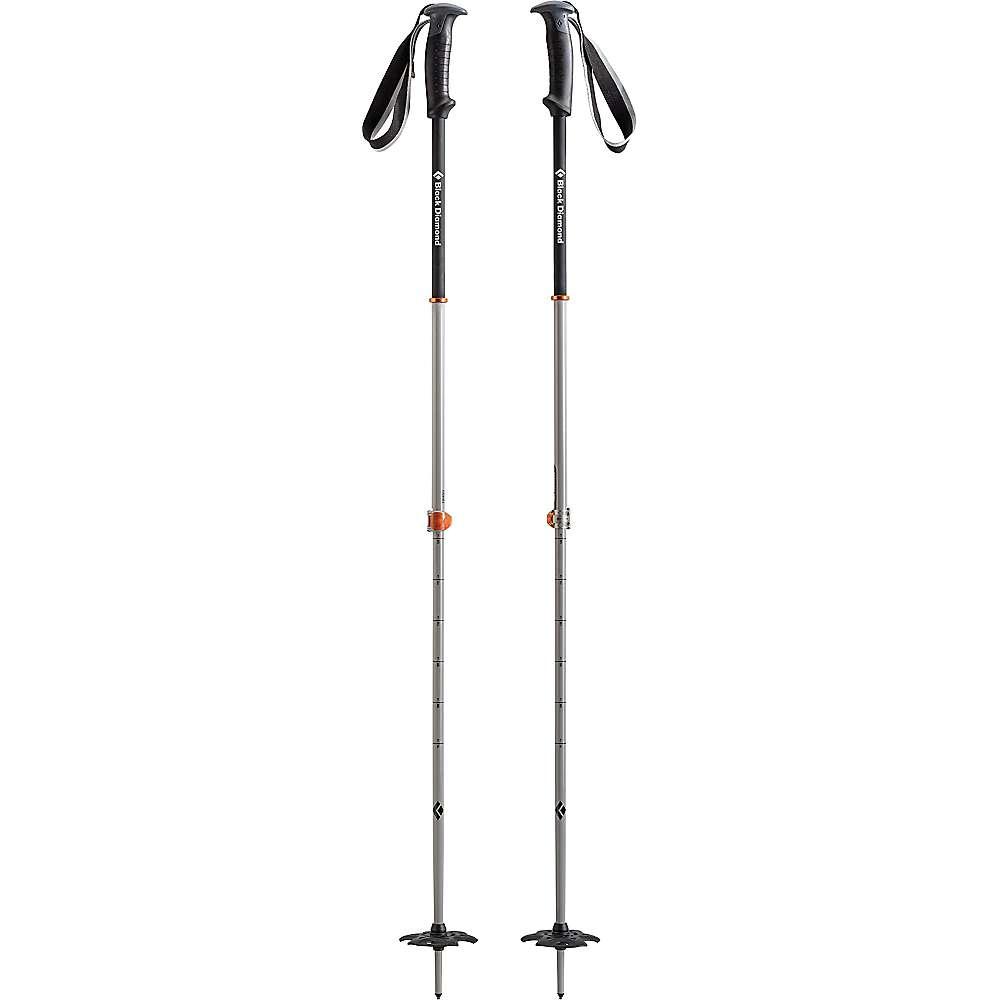 ブラックダイヤモンド ユニセックス スキー・スノーボード【Black Diamond Traverse Pro Ski Pole】Vibrant Orange