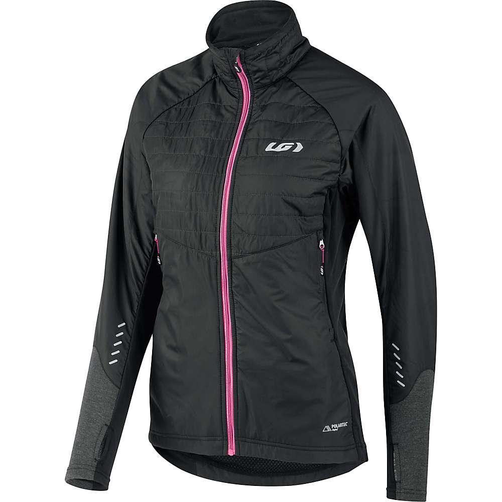 ルイスガーナー レディース 自転車 アウター【Louis Garneau Cove Hybrid Jacket】Black / Pink