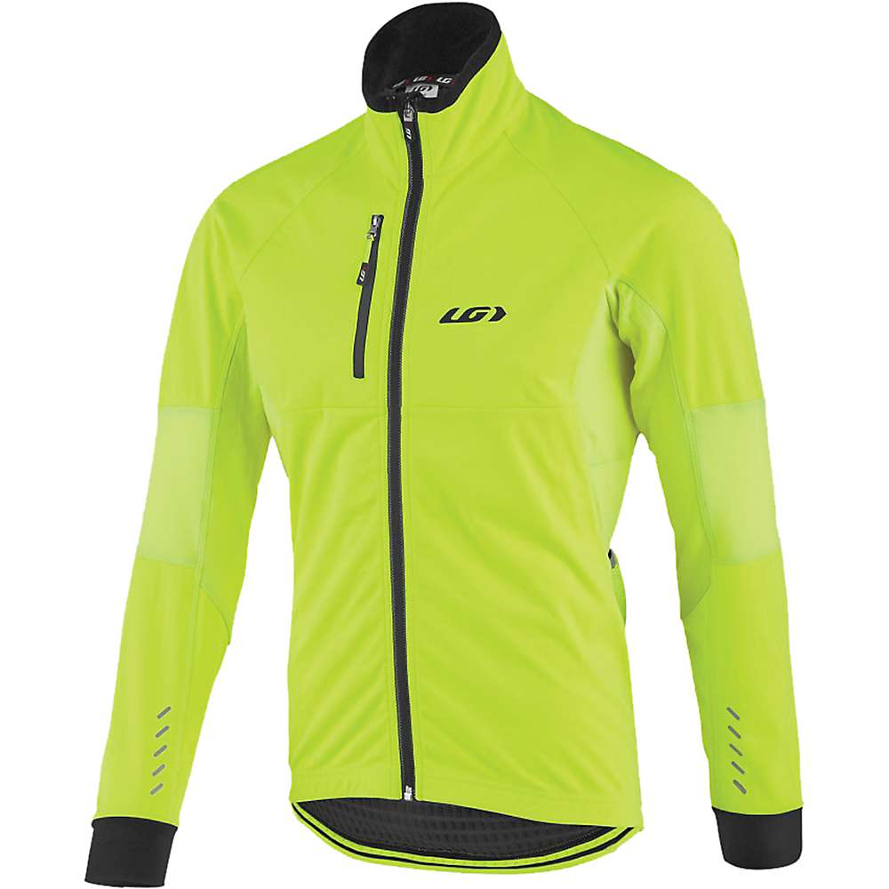 ルイスガーナー メンズ 自転車 アウター【Louis Garneau LT Enerblock Jacket】Bright Yellow