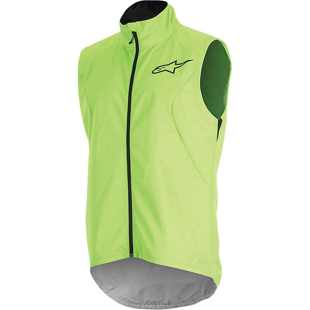 アルパインスターズ メンズ 自転車 トップス【Alpine Stars Descender 2 Vest】Bright Green / Black