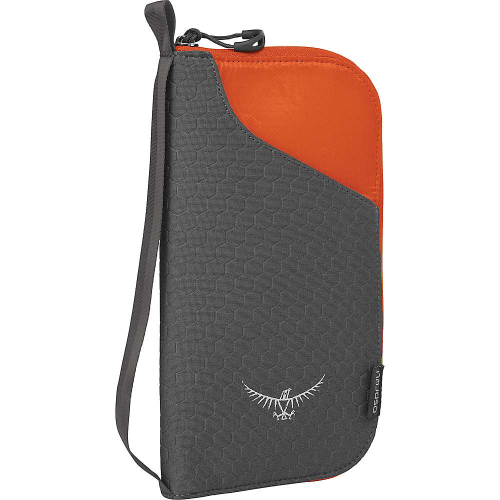 オスプレー ユニセックス ハイキング・登山【Osprey Document Zip Case】Poppy Orange
