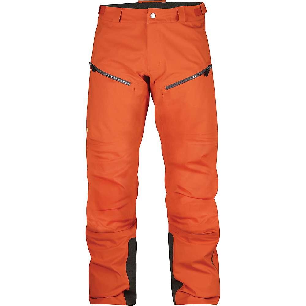 フェールラーベン メンズ ハイキング・登山 ボトムス・パンツ【Fjallraven Bergtagen Eco Shell Trouser】Hokkaido Orange